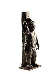Figurine van Attis in brons