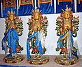 Figurki Awalokiteśwary w Głównej Świątyni w klasztorze Erdene Dzuu.jpg