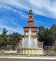 Filarete Tower, Castello Sforzesco, Milan.jpg