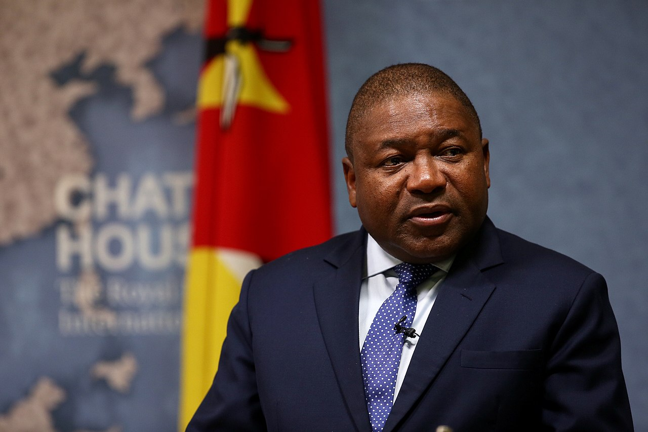 Filipe Nyusi, President, Republic of Mozambique - 2018 (40689535485).jpg