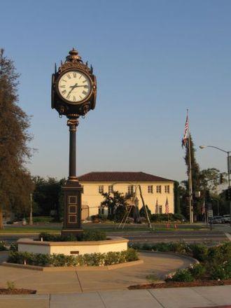 San Marino, California - Rotary Centennial Clock in San Marino, California