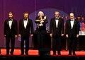 Final del recital de Los Premios Mastropiero - Les Luthiers.jpg