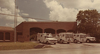 Acres Homes, Houston - Fire Station 67, 1976