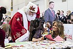 First Lady Melania Trump at a Toys for Tots Christmas Event (32417629658).jpg