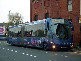 FTR (bus) - First West Yorkshire Wright StreetCar in November 2012