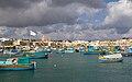 Fishing boats at Marsaxlokk 4 (6946282257).jpg