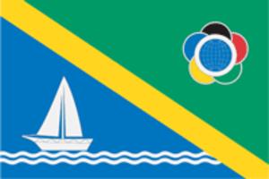 Levoberezhny District, Moscow - Image: Flag of Levoberezhny (municipality in Moscow)