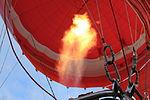 Flames from burner in hot air balloon.JPG
