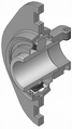 Flanged-housing-unit din626-t3 type-eb-yel 180.png