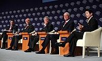 Flickr - World Economic Forum - Takenaka, Turley, Sautter, Dobbs - Antonovich - Annual Meeting of the New Champions Tianjin 2008.jpg