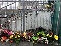 Flowers at mosque in Wellington, NZ.jpg