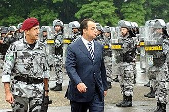 Military Police (Brazil) - FNSP in Rio de Janeiro - 2007.