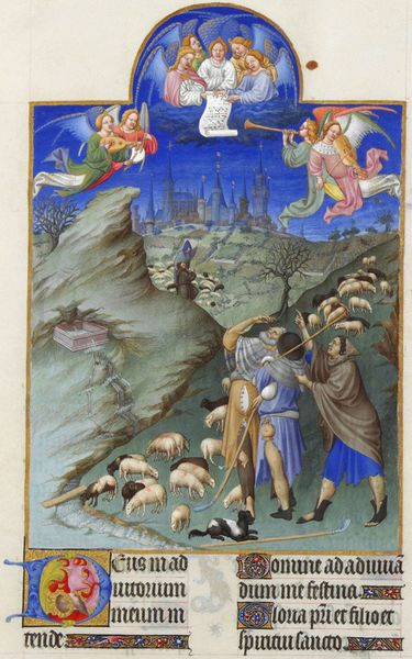 File:Folio 48r - The Annunciation to the Shepherds.jpg