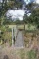 Footbridge near the A21 in Meopham Bank Farm - geograph.org.uk - 1547284.jpg