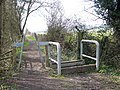 Footpath and stile - geograph.org.uk - 153331.jpg
