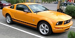 Ford Mustang front 20080727.jpg