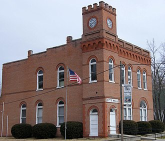 Forest City, Missouri - City Hall on the National Register of Historic Places