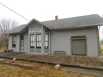 Mount Sterling, Illinois - Former train station in Mount Sterling