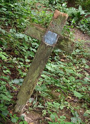 George Fosbery - Fosbery's grave, Smallcombe Cemetery, Bath