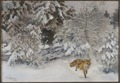 Fox in Winter Landscape (Bruno Liljefors) - Nationalmuseum - 23703.tif