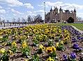Frühjahrsblumen vor dem Schloss.jpg