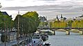 France, Paris, le Pont des Arts et le Louvre vus du Pont-Neuf.jpg