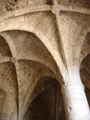 France-Chateau de Queribus-plafond Donjon-2005-08-05.jpg
