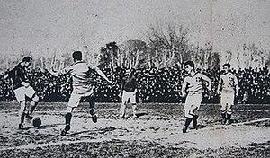 France–Italy football rivalry - Image: France Italy, football, 20 feb 1921 (2)
