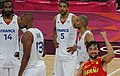 France Olympic basketball players disappointed, Sergio Llull excited.jpg
