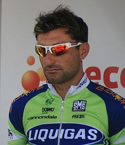 Francesco Chicchi a l'Eneco Tour 2008