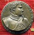 Francesco da sangallo, medaglia con giovanni dalle bande nere, 1522.JPG