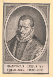 Franciscus Junius (the elder) 16th-century Huguenot theologian