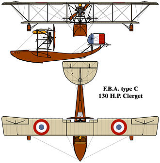 Franco-British Aviation - Image: Franco British Aviation (FBA) Type C drawing