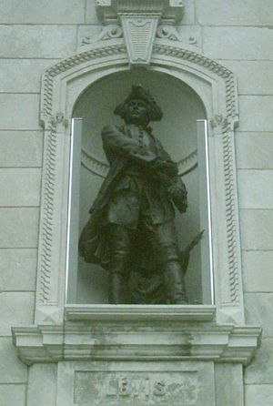 François Gaston de Lévis - François Gaston de Lévis sculpture in front of Parliament Building (Quebec)
