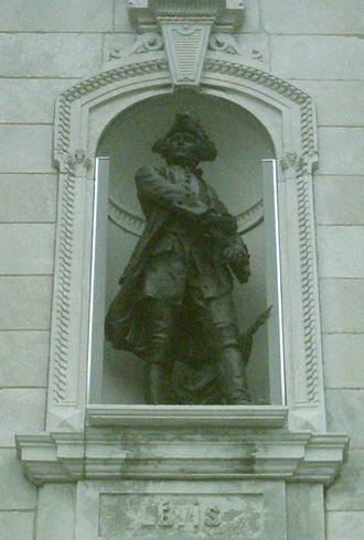 François Gaston de Lévis - François Gaston de Lévis sculpture in front of Parliament Building (Quebec)