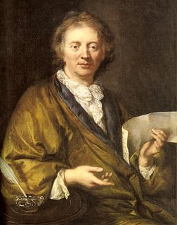 François Couperin, (1668-1733). Anonymous artist, Collection of the Château de Versailles.