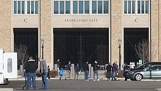 Frank Leahy - Gate at Notre Dame Stadium named for Leahy