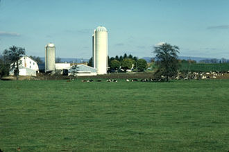 Franklin County, Pennsylvania - A farm in Franklin County
