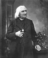 Photograph of F. Liszt by Louis Held
