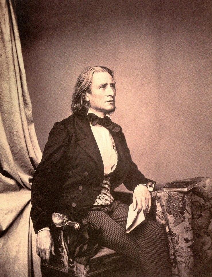 Franz Liszt 1858