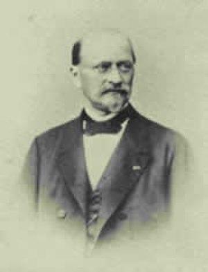 Franz Seraph von Pfistermeister - Franz Seraph Freiherr von Pfistermeister, State Council of the Kingdom of Bavaria.