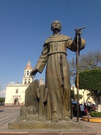 Antonio Margil - Antonio Margil's statue in Queretaro, Mexico