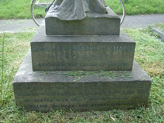 Frederick Francis Maude - Funerary monument, Brompton Cemetery, London