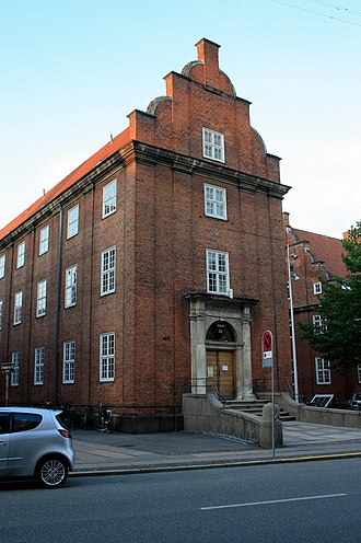 Frederiksberg Courthouse - The police station