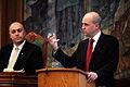 Fredrik Reinfeldt, statsminister Sverige, talar under Nordiska radets session i Kopenhamn 2006.jpg