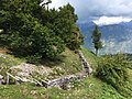 "Freilichtmuseum Kolovrat (1114 m) beim ""Pot Miru"", Friedensweg in Tolmin, Slowenien, EU.jpg"