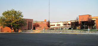Fremont County, Wyoming - Image: Fremont County Courthouse (Front)
