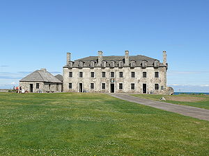 Fort Niagara - View of French Castle at Fort Niagara