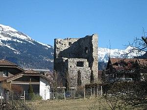 Ruine der Burg Friedau