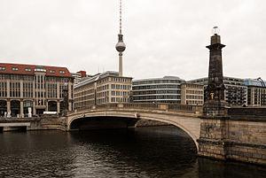 Friedrichs Bridge - The bridge in 2016